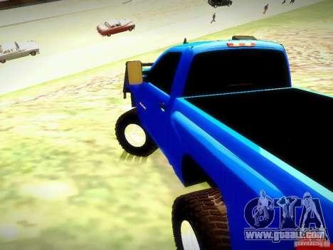 Chevrolet Silverado OFFRoad for GTA San Andreas left view