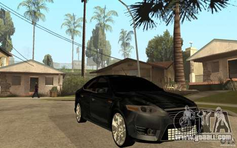 Ford Mondeo 2009 for GTA San Andreas back view
