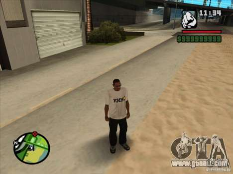 T-shirt MOVIES for GTA San Andreas third screenshot