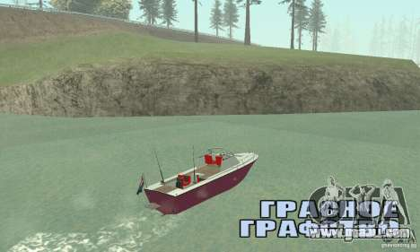Sports Fishing Boat for GTA San Andreas left view