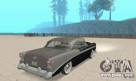 Chevrolet Bel Air 1956 for GTA San Andreas left view