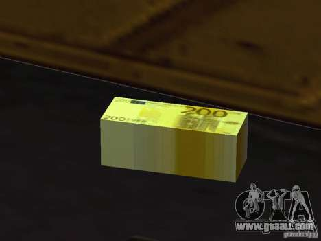 Euro money mod v 1.5 200 euros for GTA San Andreas