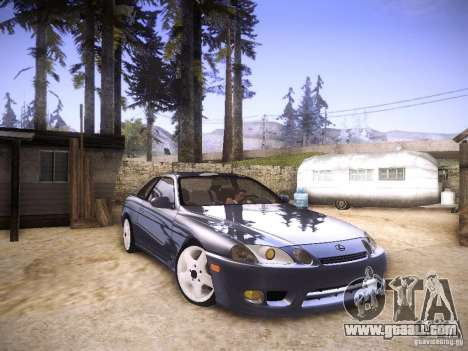 Lexus SC300 - Stock for GTA San Andreas right view
