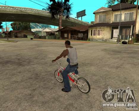Skyway BMX for GTA San Andreas left view