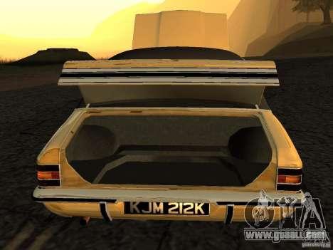 Ford Cortina MK 3 Life On Mars for GTA San Andreas right view