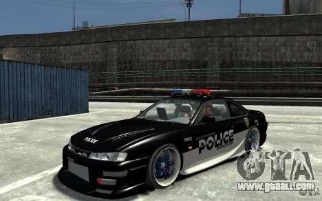 Nissan 200SX Police v0.2 for GTA 4