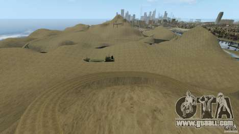 Desert Rally+Boat for GTA 4 second screenshot