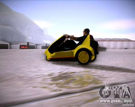 Sinclair C5 for GTA San Andreas