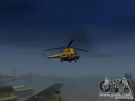 MI-2 Police for GTA San Andreas right view