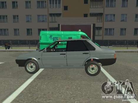 VAZ 21099 for GTA San Andreas back left view