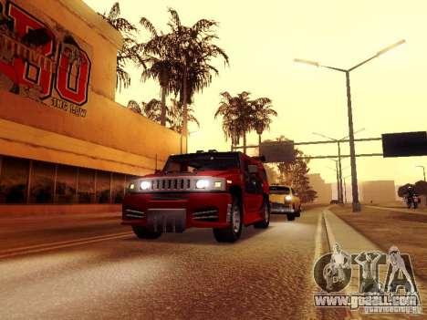 ENBSeries v1 for GTA San Andreas third screenshot