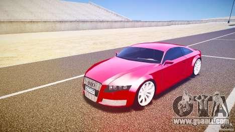 Audi Nuvollari Quattro for GTA 4 left view