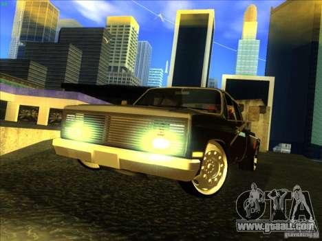 Chevrolet Silverado Towtruck for GTA San Andreas left view