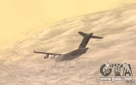 C-17 Globemaster III for GTA San Andreas left view