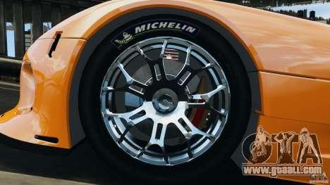 SRT Viper GTS-R 2012 v1.0 for GTA 4 inner view