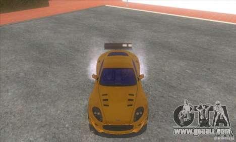 Aston Martin DB9 MW for GTA San Andreas back view