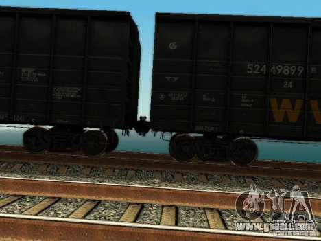 Boxcar for GTA San Andreas right view