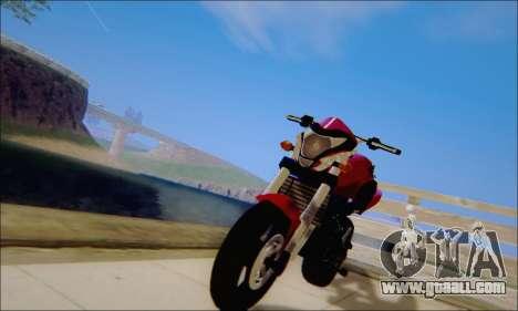 Honda CB600F Hornet 2012 for GTA San Andreas