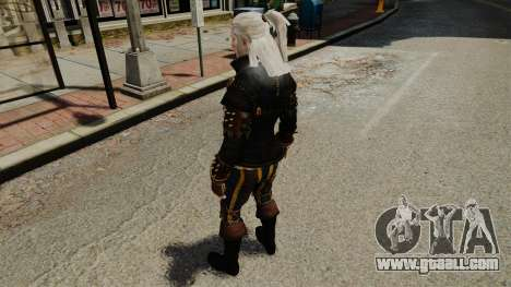 Geralt of Rivia v1 for GTA 4 fifth screenshot