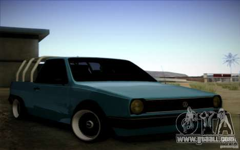 Volkswagen Polo Pickup for GTA San Andreas left view