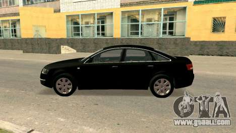 Audi A6 for GTA San Andreas left view