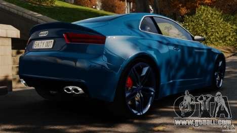 Audi S5 Conceptcar for GTA 4 back left view