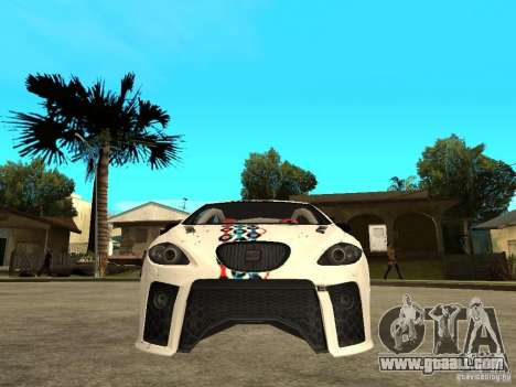 Seat Leon Cupra Bound Dynamic for GTA San Andreas right view