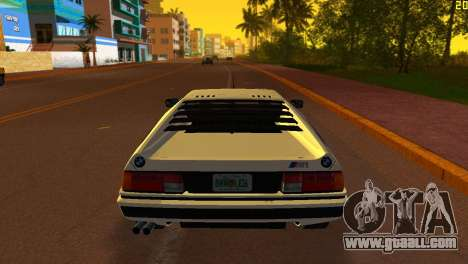 BMW M1 (E26) 1979 for GTA Vice City left view