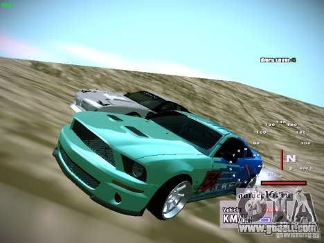 Ford Shelby GT500 Falken Tire Justin Pawlak 2012 for GTA San Andreas