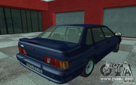 VAZ 2115 for GTA San Andreas left view