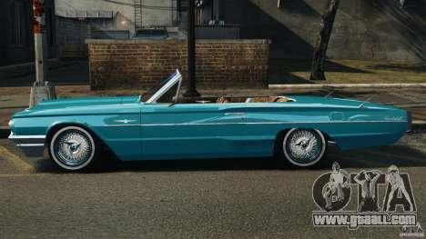 Ford Thunderbird Light Custom 1964-1965 v1.0 for GTA 4 left view