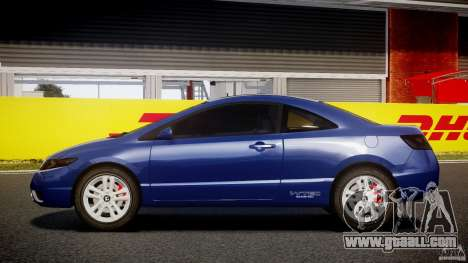 Honda Civic Si Coupe 2006 v1.0 for GTA 4 left view