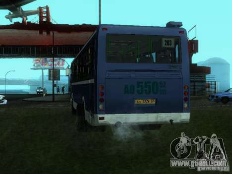 LIAZ 5256-26 for GTA San Andreas left view