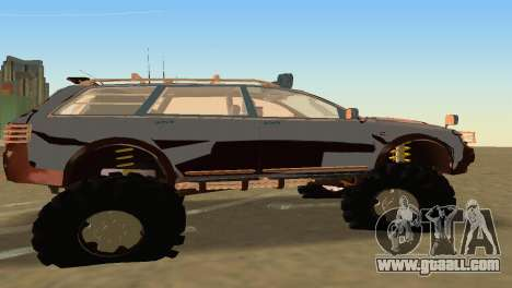 Audi Allroad Offroader for GTA Vice City back left view
