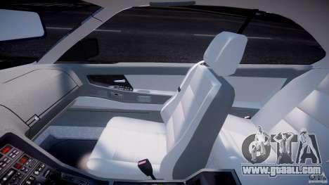 BMW 850i E31 1989-1994 for GTA 4 back view