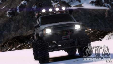 Jeep Cheeroke SE v1.1 for GTA 4