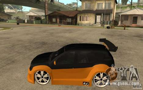 Dacia Duster Tuning v1 for GTA San Andreas left view