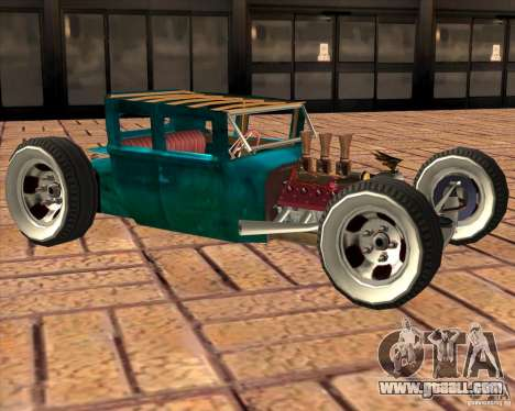 Ford model T 1925 ratrod for GTA San Andreas left view