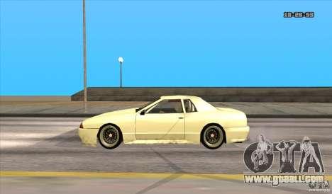 Elegy Drift Style for GTA San Andreas back left view