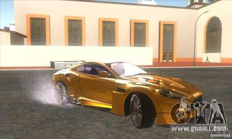 Aston Martin DB9 MW for GTA San Andreas left view