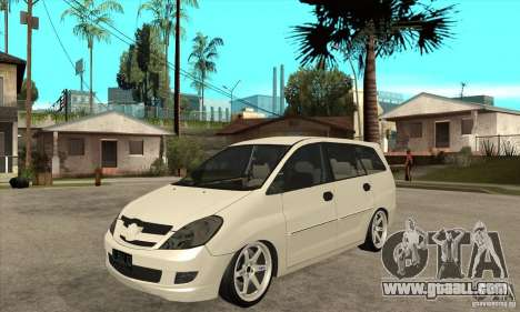 Toyota Innova Lowrider Rims 2 for GTA San Andreas