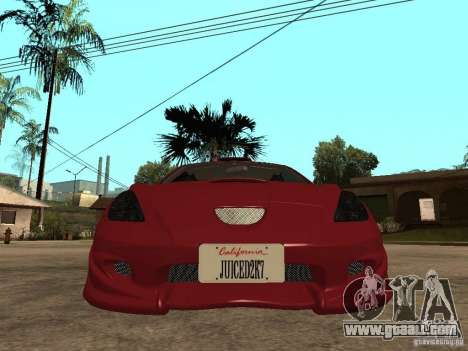 Toyota Celica Veilside for GTA San Andreas right view