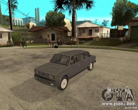 VAZ 2105 Limousine for GTA San Andreas