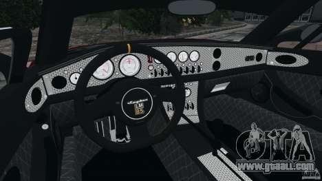 Spyker C8 Laviolette LM85 for GTA 4 back view
