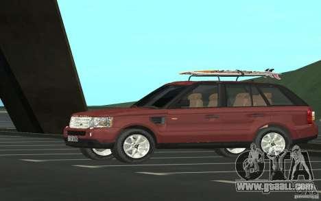 Land Rover Range Rover 2007 for GTA San Andreas