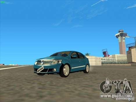 Volkswagen Voyage Comfortline 1.6 2009 for GTA San Andreas inner view