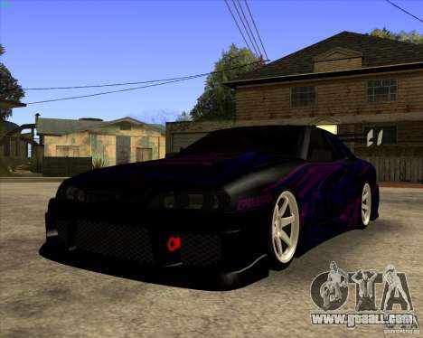 Elegy 0.2 for GTA San Andreas back left view