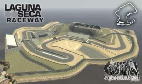 Laguna Seca ( Final ) for GTA 4