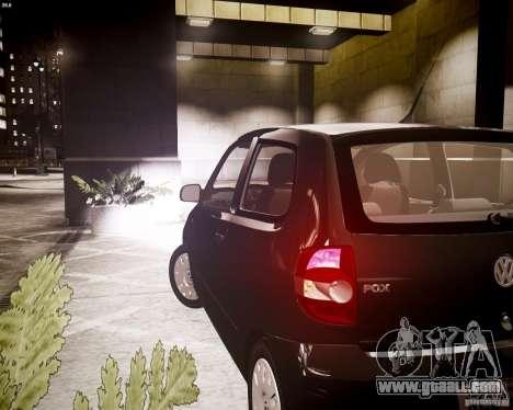 Volkswagen Fox 2011 for GTA 4 back view