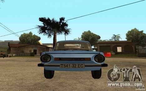 ZAZ 968 M for GTA San Andreas right view